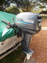 Yamaha 15 h.p. Outboard Motor